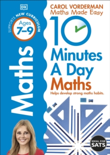 10 Minutes a Day Maths Ages 7-9 Key Stage 2, Paperback / softback Book