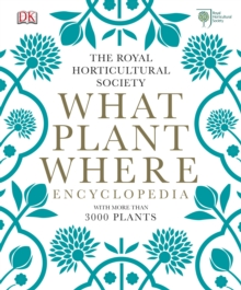 RHS What Plant Where Encyclopedia, Hardback Book