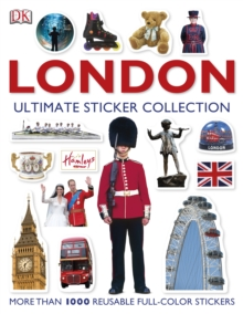 London: Ultimate Sticker Collection, Paperback Book