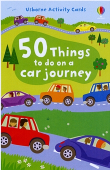 50 Things to Do on a Car Journey, Novelty book Book
