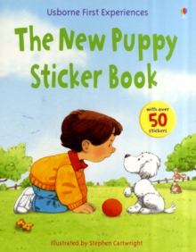 Usborne First Experiences New Puppy Sticker Book, Paperback / softback Book