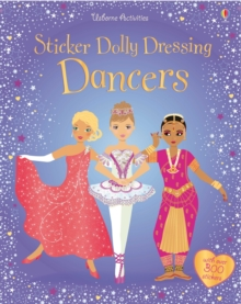 Sticker Dolly Dressing Dancers, Paperback Book