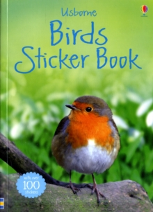 Birds Sticker Book, Paperback Book