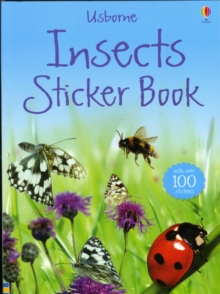 Insects Sticker Book, Paperback Book