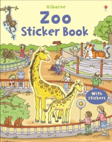 First Sticker Book Zoo, Paperback Book