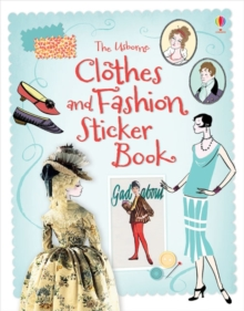 Clothes & Fashion Sticker Book, Paperback Book