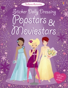 Sticker Dolly Dressing Popstars and Movie Stars, Paperback Book