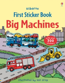 Big Machines Sticker Book, Paperback Book