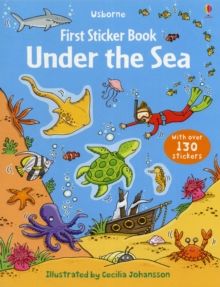First Sticker Book Under the Sea, Paperback / softback Book