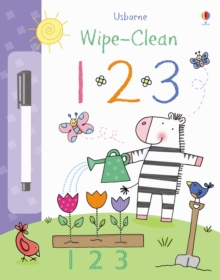 Wipe-Clean 123, Hardback Book