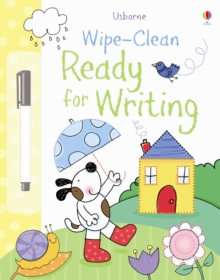 Wipe-Clean Ready for Writing, Hardback Book