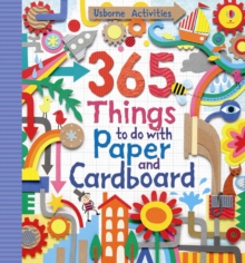 365 Things to Do with Paper and Cardboard, Spiral bound Book