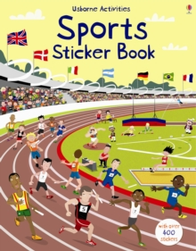Sports Sticker Book, Paperback Book