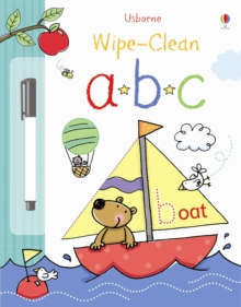 Wipe-Clean Alphabet, Hardback Book