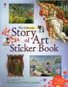 Story of Art Sticker Book, Paperback Book
