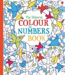 Colour by Numbers Book, Paperback Book