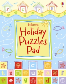Usborne Holiday Puzzle Pad, Paperback / softback Book