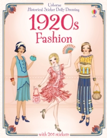 Historical Sticker Dolly Dressing: 1920s Fashion, Paperback Book