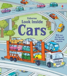 Look Inside Cars, Hardback Book