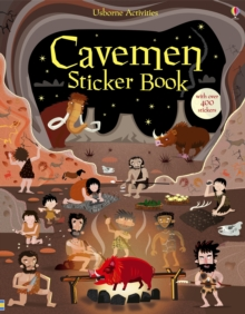 Cavemen Sticker Book, Paperback Book
