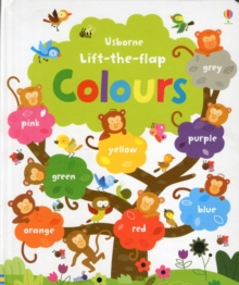 Lift the Flap Colours Book, Hardback Book