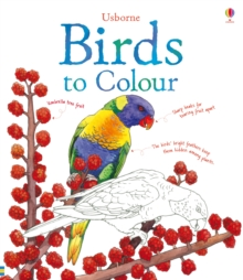 Birds to Colour, Paperback Book