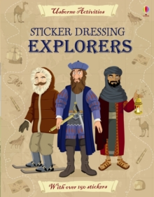 Sticker Dressing Explorers, Paperback / softback Book