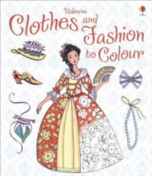 Clothes and Fashion to Colour, Paperback / softback Book