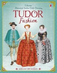 Historical Sticker Dolly Dressing Tudors, Paperback Book
