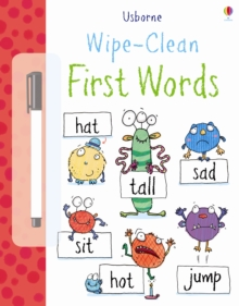 Wipe Clean : First Words, Paperback / softback Book