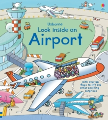 Look Inside an Airport, Hardback Book