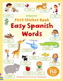 Easy Spanish Words, Paperback Book