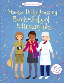 Sticker Dolly Dressing Back to School & Dream Jobs, Paperback Book