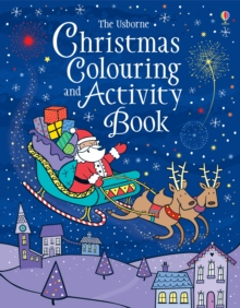 Christmas Colouring and Activity Book, Paperback Book