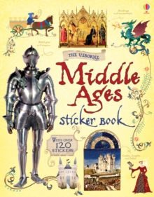 Middle Ages Sticker Book, Paperback Book