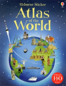Sticker Atlas of the World, Paperback Book