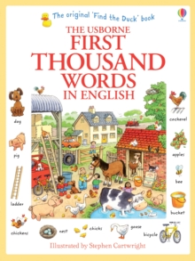 First Thousand Words In English, Paperback / softback Book