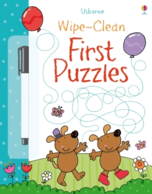 Wipe-Clean First Puzzles, Paperback / softback Book