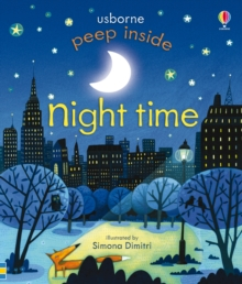 Peep Inside Night-Time, Board book Book