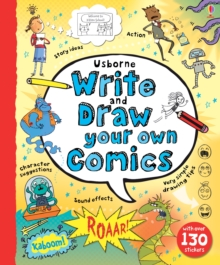 Write and Draw Your Own Comics, Hardback Book