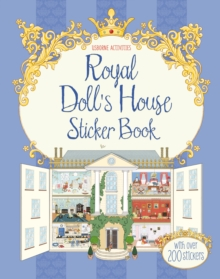Royal Doll's House Sticker Book, Paperback Book