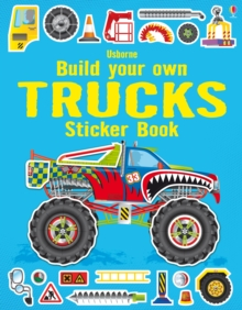 Build Your Own Trucks Sticker Book, Paperback / softback Book