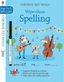 Wipe-clean Spelling 7-8, Paperback Book