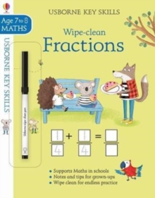 Wipe-Clean Fractions 7-8, Paperback Book