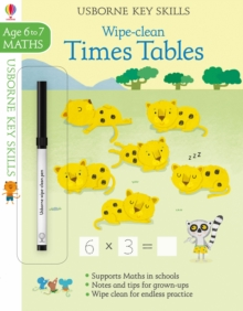 Wipe-Clean Times Tables 6-7, Paperback Book