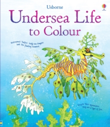Undersea Life to Colour, Paperback Book