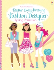Sticker Dolly Dressing Fashion Designer Spring Collection, Paperback Book
