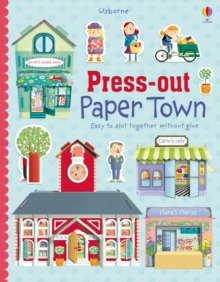 Press-out Paper Town, Paperback / softback Book