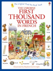 First Thousand Words in French, Paperback / softback Book