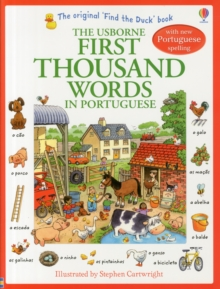 First Thousand Words in Portuguese, Paperback Book